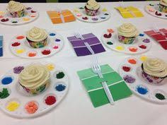Decorate Your Own Cupcake Art Party Reusable Art Palettes Instead Of Plates Decorate Your