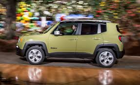 yellow jeep interior 2015 jeep renegade limited 4x4 test u2013 review u2013 car and driver