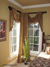 living room valances and swags valance styles to make curtain with