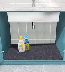 sink kitchen cabinet mat sensko sink mat kitchen cabinet mat absorbent waterproof sink drip protector tray contains liquids protects cabinets washable 36 x 23 8