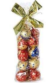 riegelein chocolate tree ornament balls 200g
