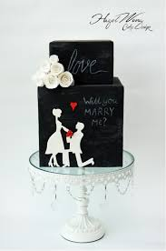 engagement cakes cake decorators be inspired by 7 beautiful silhouette cakes