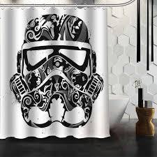 Star Wars Bathroom Set New Design Custom Star Wars Shower Curtain Bathroom Decor