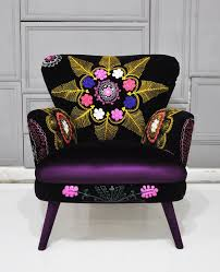 Suzani Fabric Chair Lita U0026 Lena Decoración Y Reciclaje Have A Seat Pinterest