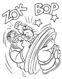 popeye coloring pages free coloring pages printables for kids