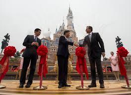 shanghai disney resort opens in mainland china the walt disney