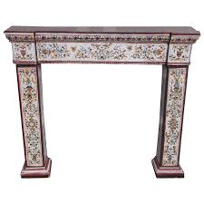 Fireplace Canopy Hood by Ceramic Fireplaces And Mantels 58 For Sale At 1stdibs