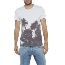 Rugged Clothing Wrangler Pants Wrangler S S Palm Tree T Shirts White Men S