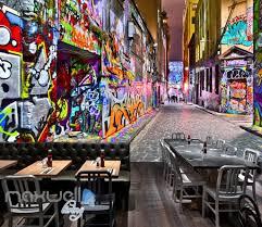 3d graffiti building lane street wall murals wallpaper art decals 3d graffiti building lane street wall murals wallpaper art decals prints decor idcwp ty