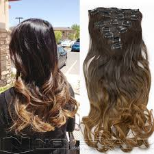 clip extensions aliexpress buy neverland 20 22 ombre hair extensions