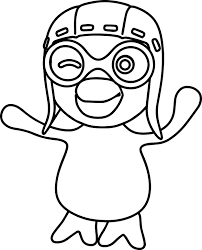 pororo coloring pages wecoloringpage