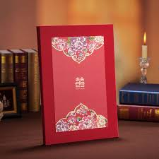 Red Wedding Decorations Aliexpress Com Buy High Class Chinese Style Wedding Guest Book