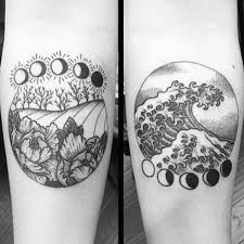 79 best moon phases tattoo designs u0026 ideas collections golfian com