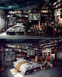 modern home library interior design best 25 library bedroom ideas on bedroom wall shelves