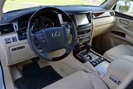 Lexus Lx Interior Pictures 2014 Lexus Lx 570 Review U0026 Test Drive