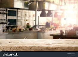 interior kitchen restaurant napkin desk space stock photo interior of kitchen in restaurant and napkin and desk space