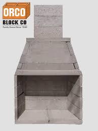 Patio Fireplace Kit by Orco Product Burntech Modular Masonry Fireplace Kit Outdoor