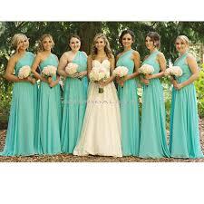 bridesmaid dress tiffany blue bridesmaid dress one shoulder
