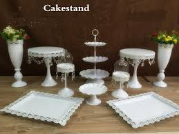cake stands for wedding cakes new arrival 10pcs white wedding cake stand wedding table