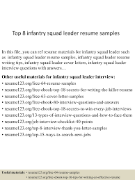 Infantryman Skills Resume Infantry Skills For Resume Free Resume Example And Writing Download