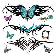 button tattoo bluetooth lower back tattoo designs for girls