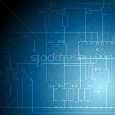 electrical scheme tech vector background vector illustration
