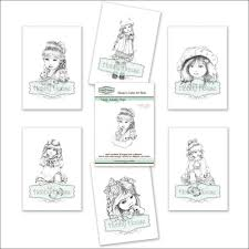 the hobby house sugar nellie ready to colour art book simply
