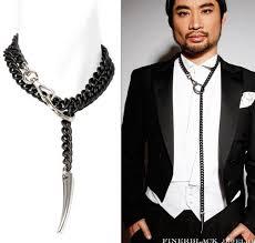 choker necklace man images Forbidden mens bondage bdsm collar black rubber aksesuar jpg