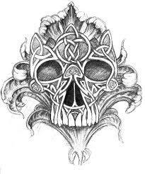 Celtic Skull - 41 best celtic skeleton images on celtic skull
