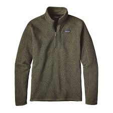 patagonia s better sweater quarter zip fleece