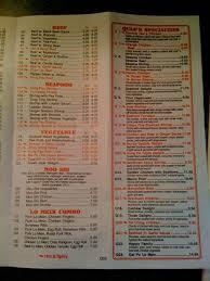 quan chinese kitchen menu menu for quan chinese kitchen south