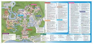 Orlando Tourist Map Pdf by Map Of Disney World Mousehints