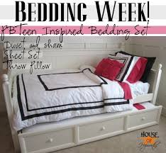 Pb Teen Duvet Pbteen Inspired Duvet U0026 Sham Tutorial Bedding Week