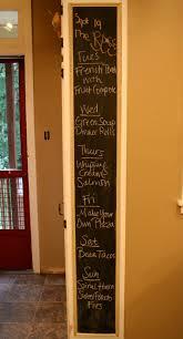 Chalkboard Ideas For Kitchen Musing Meal Plan Diy Kitchen Chalkboard Belle Squeaks