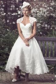 royal vintage tea length wedding dress 35 about western wedding