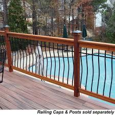 free samples railsimple wood railing kits tuscany series cedar