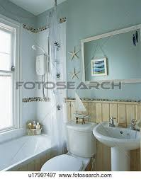 Tongue And Groove In Bathrooms Picture Of Tongue Groove Dado Panelling In Small Bathroom With