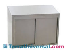 Wall Cabinet Sliding Doors Stainless Steel Wall Cabinet Sliding Door 36 W X 15 D X 28 H
