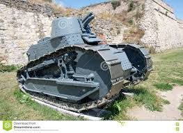 french renault tank old french armored renault military vehicle editorial photo