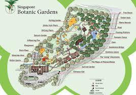 Botanic Garden Mrt Jacob Ballas Children S Garden Botanic Gardens Cafe Map Singapore
