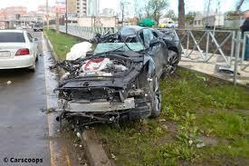 laferrari crash mclaren crash auf der a95 bilder autobild de
