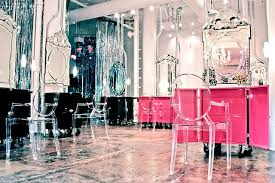 Interior Design Of Parlour 7 Sleek New York City Hair Salons Photos Architectural Digest