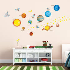 amazon com decowall dw 1307 planets in the space wall stickers amazon com decowall dw 1307 planets in the space wall stickers