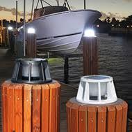 solar led dock lights boat dock lights led lighting for marine docks and decks
