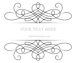 vector floral ornament banner with place your text by