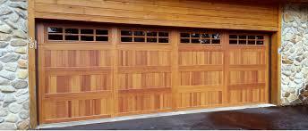 wooden garage doors in plano tx