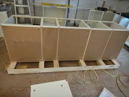 kitchen island installing kitchen base cabinets install island