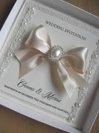 luxury wedding invitations pearls u0026 diamante bling with