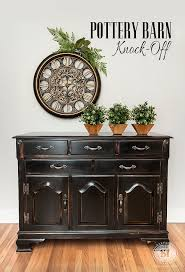 Pottery Barn Inspired Diy Dresser Diy Pottery Barn Knock Off Salvaged Inspirations