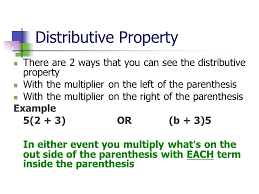 the distributive property 6 ee a 2b 6 ee a 3 and 6 ee a ppt download